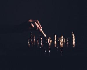 Foto Schachspiel