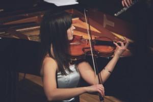 Foto Musikerin