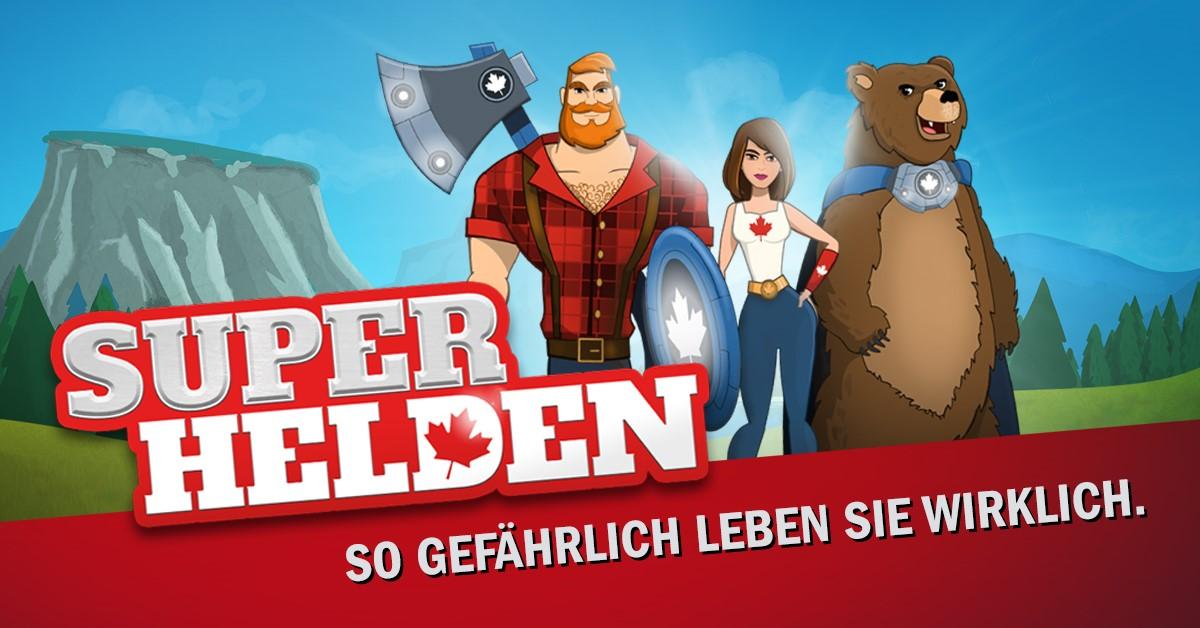 Foto Superheldenspiel